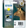Original Epson T1304XL Yellow High Capacity Ink Cartridge (C13T13044010)