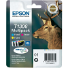 Original Epson T1306XL Cyan Magenta Yellow Pack High Capacity Ink Cartridges