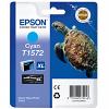 Original Epson T1572 Cyan Ink Cartridge (C13T15724010)