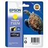 Original Epson T1574 Yellow Ink Cartridge (C13T15744010)