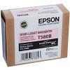 Original Epson T580B Vivid Light Magenta Ink Cartridge (C13T580B00)