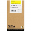 Original Epson T6114 Yellow Ink Cartridge (C13T611400)