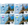 Original Epson T702XL CMYK Multipack High Capacity Ink Cartridges (T7021 / T7022 / T7023 / T7024)