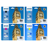 Original Epson T703 CMYK Multipack Ink Cartridges