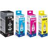 Original Epson T7741 / T664 CMYK Multipack Ink Bottles