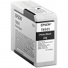 Original Epson T8501 Photo Black Ink Cartridge