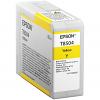 Original Epson T8504 Yellow Ink Cartridge (C13T850400)