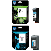 Original HP 15 / 17 Black & Colour Combo Pack Ink Cartridges (C6615DE & C6625AE)