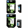 Original HP 15 / 23 Black & Colour Combo Pack Ink Cartridges (C6615DE & C1823DE)