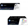 Original HP 201X CMYK Multipack High Capacity Toner Cartridges (CF400X / CF253XM)