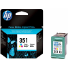 Original HP 351 Colour Ink Cartridge (CB337EE)