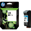 Original HP 45 Black High Capacity Ink Cartridge (51645AE)