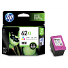 Original HP 62XL Colour High Capacity Ink Cartridge (C2P07AE)
