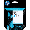 Original HP 72 Cyan Ink Cartridge (C9398A)