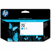 Original HP 72 Cyan High Capacity Ink Cartridge (C9371A)