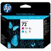 Original HP 72 Magenta & Cyan Printhead (C9383A)