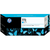 Original HP 772 Cyan Ink Cartridge (CN636A)
