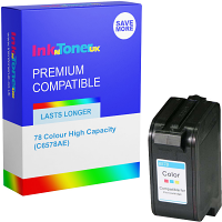 Premium Remanufactured HP 78 Colour High Capacity Ink Cartridge (C6578AE)