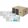 Original HP 83 Cyan Triple Pack UV Ink Cartridges (C5073A)