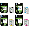 Original HP 88XL CMYK Multipack High Capacity Ink Cartridges (C9396AE / C9391AE / C9392AE / C9393AE)