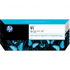 Original HP 91 Light Cyan Ink Cartridge (C9470A)