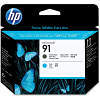 Original HP 91 Matte Black & Cyan Printhead (C9460A)