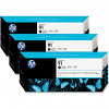 Original HP 91 Matte Black Triple Pack Ink Cartridges (C9480A)