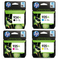 Original HP 934XL / 935XL CMYK Multipack High Capacity Ink Cartridges (X4E14AE)