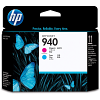 Original HP 940 Cyan & Magenta Printhead (C4901A)