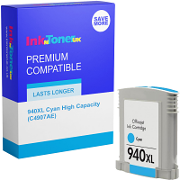 Premium Compatible HP 940XL Cyan High Capacity Ink Cartridge (C4907AE)