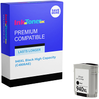 Premium Compatible HP 940XL Black High Capacity Ink Cartridge (C4906AE)