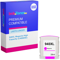 Premium Compatible HP 940XL Magenta High Capacity Ink Cartridge (C4908AE)