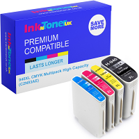 Premium Compatible HP 940XL CMYK Multipack High Capacity Ink Cartridges (C2N93AE)
