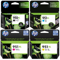 Original HP 950XL / 951XL CMYK Multipack High Capacity Ink Cartridges (C2P43AE)