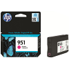 Original HP 951 Magenta Ink Cartridge (CN051AE)