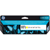 Original HP 971 Yellow Ink Cartridge (CN624AE)