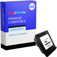 Premium Compatible HP 300 Black Ink Cartridge (CC640EE)