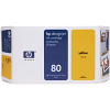 Original HP 80 Yellow Ink Cartridge (C4873A)