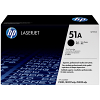 Original HP 51A Black Toner Cartridge (Q7551A)