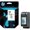 Original HP 17 Colour Ink Cartridge (C6625AE)