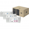 Original HP 83 Light Magenta UV Triple Pack Ink Cartridges (C5077A)