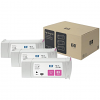 Original HP 83 Magenta UV Triple Pack Ink Cartridges (C5074A)