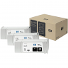 Original HP 83 Black UV Triple Pack Ink Cartridges (C5072A)