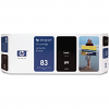 Original HP 83 Black Ink UV Cartridge (C4940A)