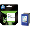 Original HP 22XL Colour High Capacity Ink Cartridge (C9352CE)