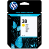 Original HP 38 Yellow Ink Cartridge (C9417A)