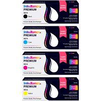 Premium Remanufactured HP 651A CMYK Multipack Toner Cartridges (CE340A/ CE341A/ CE342A/ CE343A)