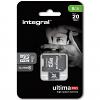 Original Integral Class 4 8GB MicroSDHC Memory Card + SD Adapter (INMSDH8G4V2)
