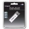 Original Integral Dual Slot SDXC & MicroSD Memory Card Reader (INCRSDMSD)