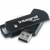 Original Integral Secure 360 8GB USB 2.0 Flash Drive (INFD8GB360SEC)